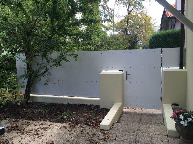 oxmetal r alisation portillon pi ton barri re sur muret. Black Bedroom Furniture Sets. Home Design Ideas
